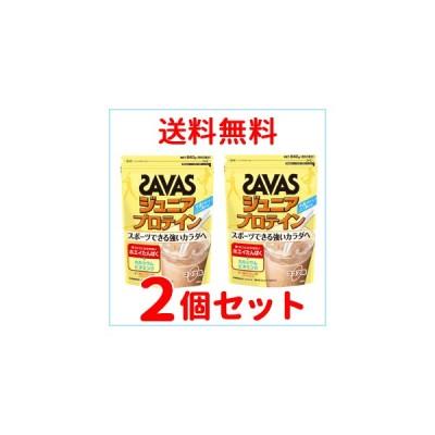 【2個セット】【明治】ザバス ジュニアプロテインココア 60食分(840g)×2個