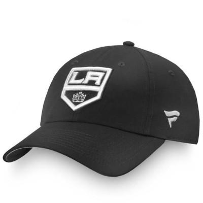 レディース スポーツリーグ ホッケー Los Angeles Kings Fanatics Branded Women's Authentic Pro Rinkside Adjustable Hat - Black - OSFA