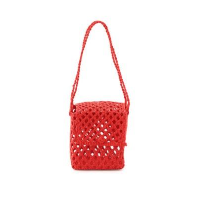 【Artesano】Cubic Straw Mini Bag (Bisou)