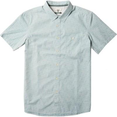 ヴィスラ Vissla メンズ 半袖シャツ トップス Code Breaker ECO Short-Sleeve Shirt Stone Blue