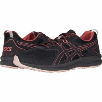 アシックス ASICS レディース ランニング・ウォーキング シューズ・靴 Trail Scout Black/Dried Rose