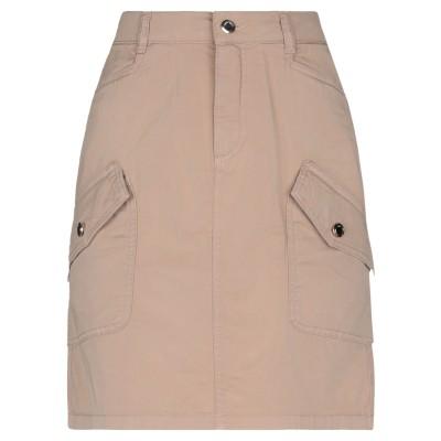 レリッシュ RELISH ひざ丈スカート ベージュ 28 コットン 98% / ポリウレタン 2% ひざ丈スカート
