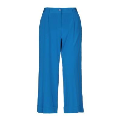 パロッシュ P.A.R.O.S.H. パンツ アジュールブルー L シルク 94% / ポリウレタン 6% パンツ