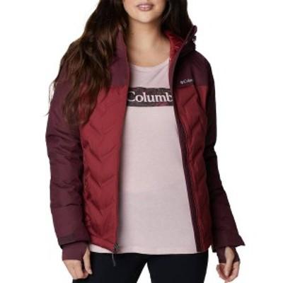 コロンビア レディース ジャケット・ブルゾン アウター Columbia Women's Plus Size Grand Trek Down Jacket Marsala Red