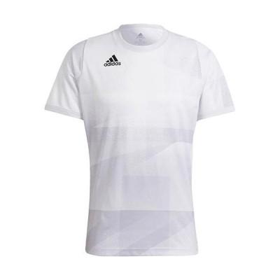 アディダス(adidas) メンズ テニス Tシャツ FLTOKYOPBHR ホワイト/ダッシュグレー/ブラック KNJ82 H18183 半袖 トップス 試合 ゲームシャツ スポーツ