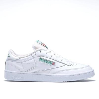 Reebok CLUB C 85 リーボック クラブ C 85 WHITE/WHITE/GLEN GREEN fx3874