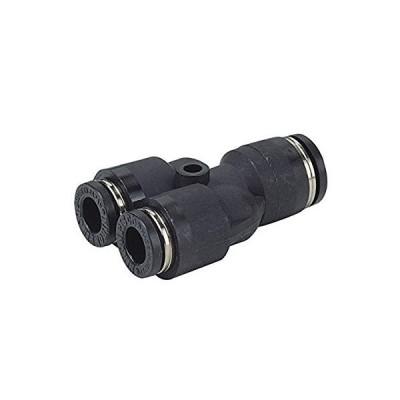日本ピスコ(PISCO) ワンタッチ継手(チューブフィッティング) 違径ユニオンワイ 適用チューブサイズ:10mm,6mm PW10-6