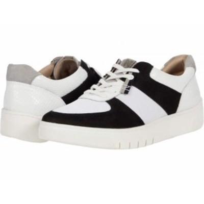 Naturalizer ナチュラライザー レディース 女性用 シューズ 靴 スニーカー 運動靴 Hadley Black/White【送料無料】