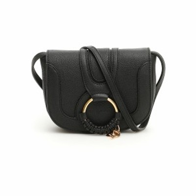 SEE BY CHLOE/シーバイクロエ Black See by chloe mini hana shoulder bag レディース 春夏2021 CHS17AS901305 ik