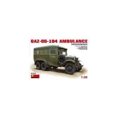 ミニアート 1/ 35 GAZ-05-194 アンビュランス(MA35164)プラモデル 返品種別B