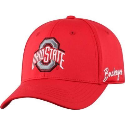 トップオブザワールド メンズ 帽子 アクセサリー Top of the World Men's Ohio State Buckeyes Scarlet Phenom 1Fit Flex Hat