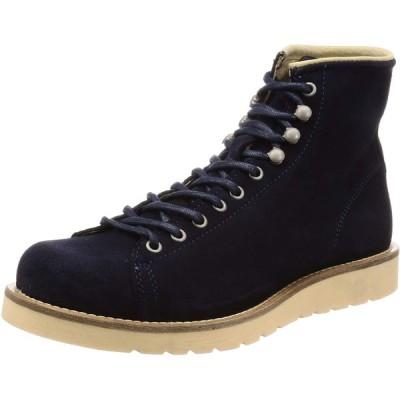 [ベルベットレッド] ブーツ Art3822 Suede Navy 25.5~26.0 cm