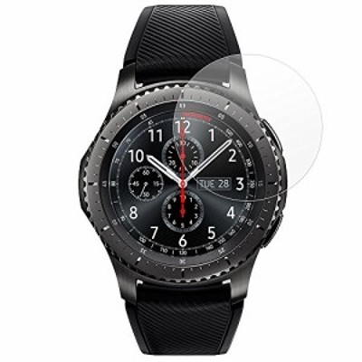 MS factory サムスン Galaxy Gear S3 frontier/classic 用 液晶保護フィルム アンチグレア Samsung f