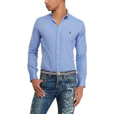 ラルフローレン メンズ シャツ トップス Slim-Fit End-On-End Poplin Stretch Long-Sleeve Woven Shirt