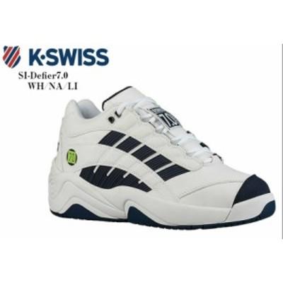 K-SWISS (ケースイス)SI-Defier7.0 36061400 コートスニーカー 【ウッディーズ】が2000年の全仏オープン優勝の際に着用していた メンズ