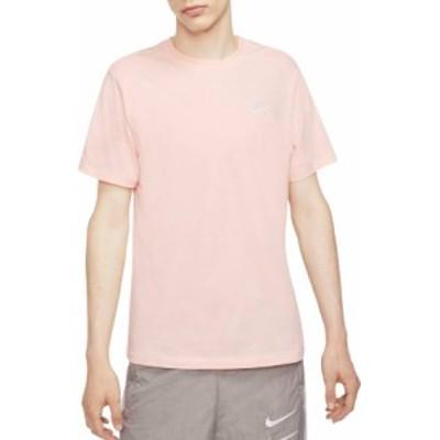 ナイキ メンズ Nike Men's Sportswear Club T-Shirt Tシャツ 半袖 WASHED CORAL