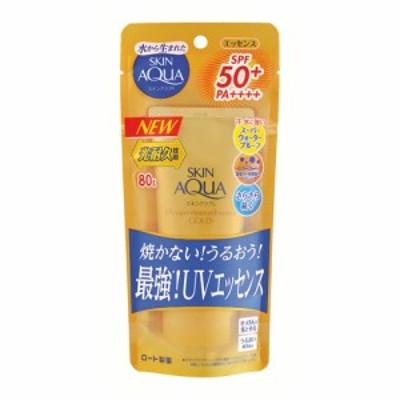 【SPF50+ PA++++】スキンアクア(SKIN AQUA) スーパーモイスチャーエッセンスゴールド 80g ロート製薬(ROHTO)