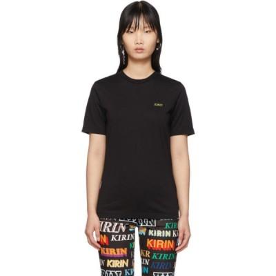 キリン Kirin レディース Tシャツ トップス Black Logo T-Shirt Black