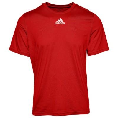 アディダス メンズ Tシャツ adidas Team Creator Short Sleeve T-Shirt - Power Red