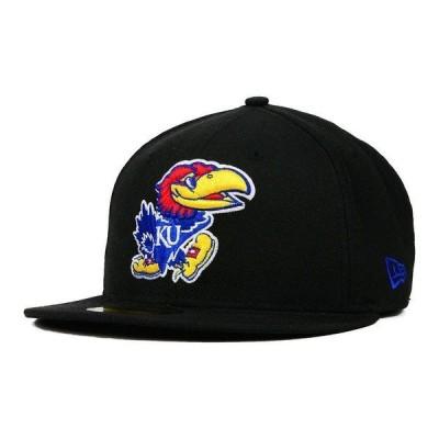 ニューエラ 帽子 アクセサリー レディース Kansas Jayhawks AC 59FIFTY Cap Black