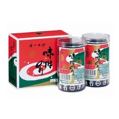 徳島 大野海苔 味付のり 卓上のり 特産品 8切48枚 2個入 箱入