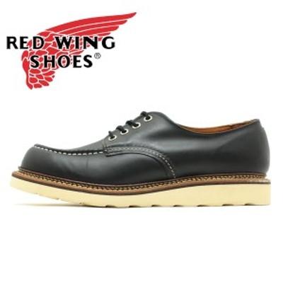 ■REDWINGJAPAN正規品■レッドウィングRW8106 クラシックワーク モックトゥ オックスフォード ブラック クローム レッドウイング/短靴/OX