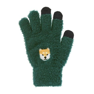 スマホ手袋 柴犬 17318631042    フリーサイズ(レディース)