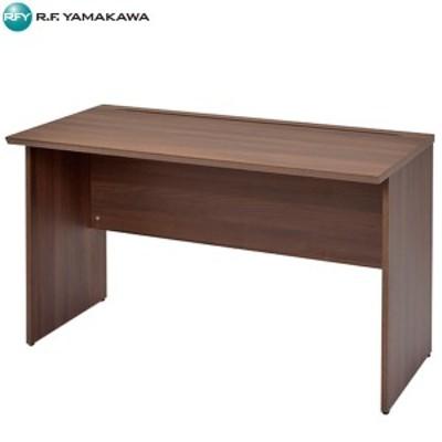【法人限定】アール・エフ・ヤマカワ:RF木製デスク W1200×D600 ダーク RFWD-1260DB