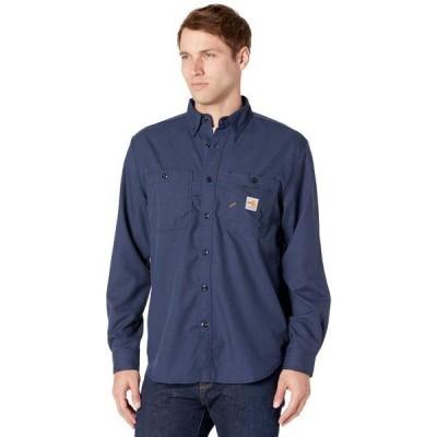 カーハート メンズ シャツ トップス Flame-Resistant Force Original Fit Lightweight Long Sleeve Button Front Shirt