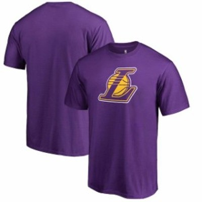 Fanatics Branded ファナティクス ブランド スポーツ用品  Fanatics Branded Purple Los Angeles Lakers Alternate Logo T-Shirt
