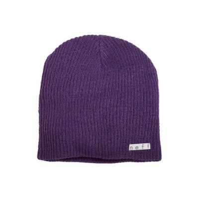帽子 ネフ Neff Unisex Daily Beanie Neon Purple Headwear Snow Cold Clothing Apparel