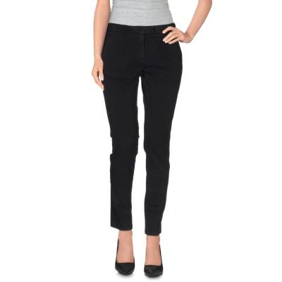 DOUUOD パンツ ブラック 44 コットン 97% / ポリウレタン 3% パンツ