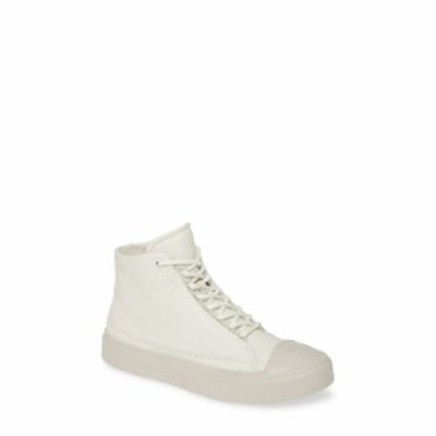 エコー ECCO レディース スニーカー シューズ・靴 Flexure Cap Toe High Top Sneaker Shadow White Leather