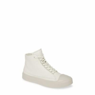 エコー ECCO レディース スニーカー シューズ・靴 Flexure Cap Toe High Top Sneaker Shadow White Leather