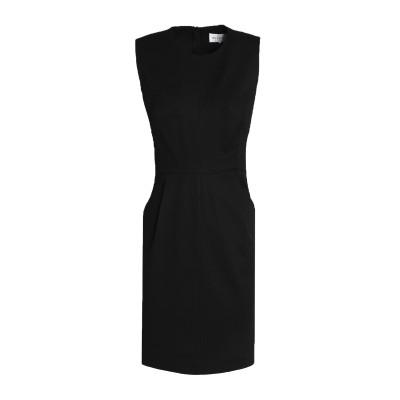 ミリー MILLY ミニワンピース&ドレス ブラック 2 コットン 97% / ポリウレタン 3% ミニワンピース&ドレス