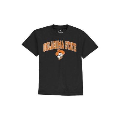 大学 NCAA ファナティクス ブランド Oklahoma State Cowboys Youth Black Campus T-Shirt