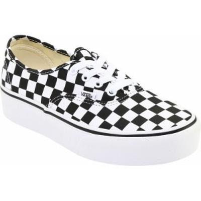 バンズ レディース スニーカー シューズ Vans Authentic Platform 2.0 Sneaker Canvas/True White