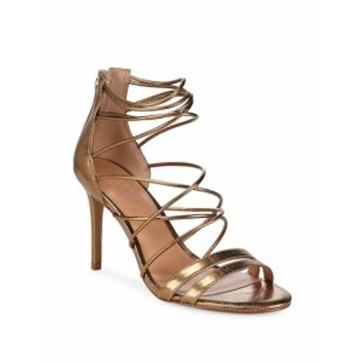 ハルストンヘリテージ レディース シューズ サンダル Metallic Strappy Leather Sandals