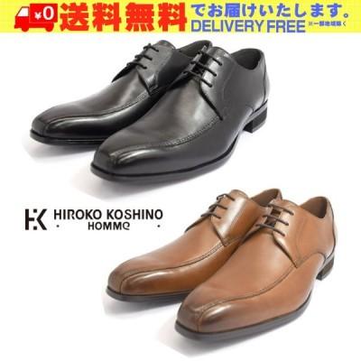 HIROKO KOSHINO HOMME コシノ ヒロコ オム HK122 スワールモカ ビジネスシューズ 紳士靴 メンズ (nesh) (新品) (送料無料)