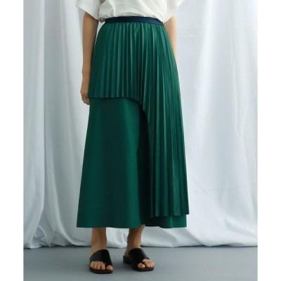 JET NEWYORK / ジェット ニューヨーク ウエストゴムアシンメトリープリーツスカート