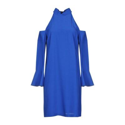 ピンコ PINKO ミニワンピース&ドレス ブライトブルー 44 アセテート 66% / レーヨン 34% ミニワンピース&ドレス