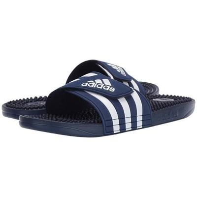 アディダス adissage メンズ サンダル Dark Blue/Footwear White/Dark Blue