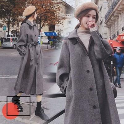 秋冬 レディース オーバー ピーコート ラシャ ファッション ツイードジャケット コート 細身 中綿コート マッチングしやすい 通勤 通学用 旅行