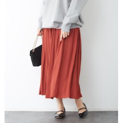 【ルージュ・ヴィフ ラクレ/Rouge vif la cle】 ドビーギャザースカート
