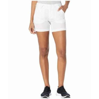 コロンビア ハーフ&ショーツ ボトムス レディース Coral Point III Shorts White