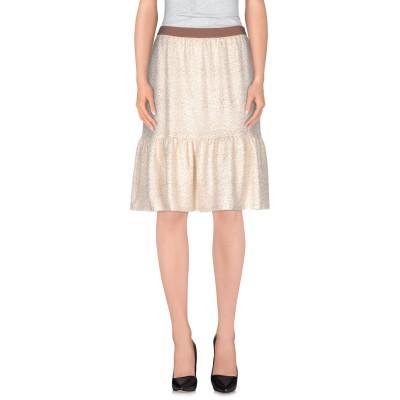 ロートレ ショーズ L' AUTRE CHOSE ひざ丈スカート アイボリー 42 ポリエステル 97% / ポリウレタン 3% ひざ丈スカート