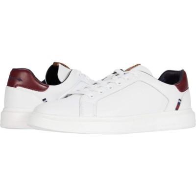 ベンシャーマン Ben Sherman メンズ シューズ・靴 Ollie Trainer White/Red PU