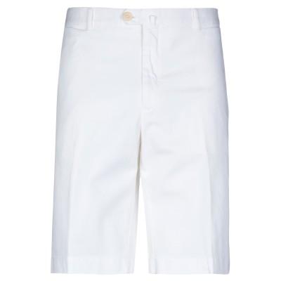 ローダ RODA バミューダパンツ ホワイト 58 コットン 98% / ポリウレタン 2% バミューダパンツ