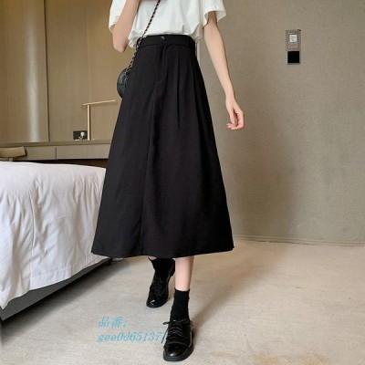 レディース ファッション 秋 冬 スカート ミディアム丈 きれいめ シンプル 無地 おしゃれ 上品 通勤 トレンド 大人