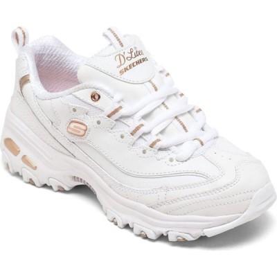 スケッチャーズ Skechers レディース ランニング・ウォーキング スニーカー シューズ・靴 D'Lites - Fresh Start Walking Sneakers from Finish Line